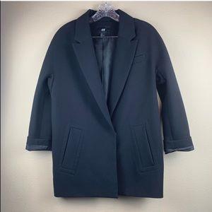 • H&M • Black Oversized Blazer Jacket